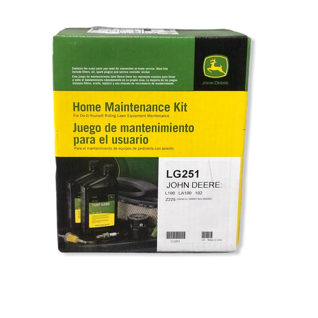 Kit manutenzione domestica John Deere LG251