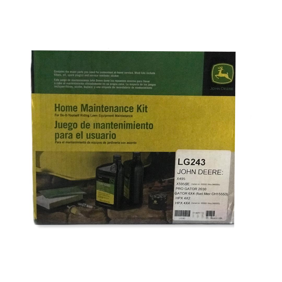 Kit manutenzione domestica John Deere LG243