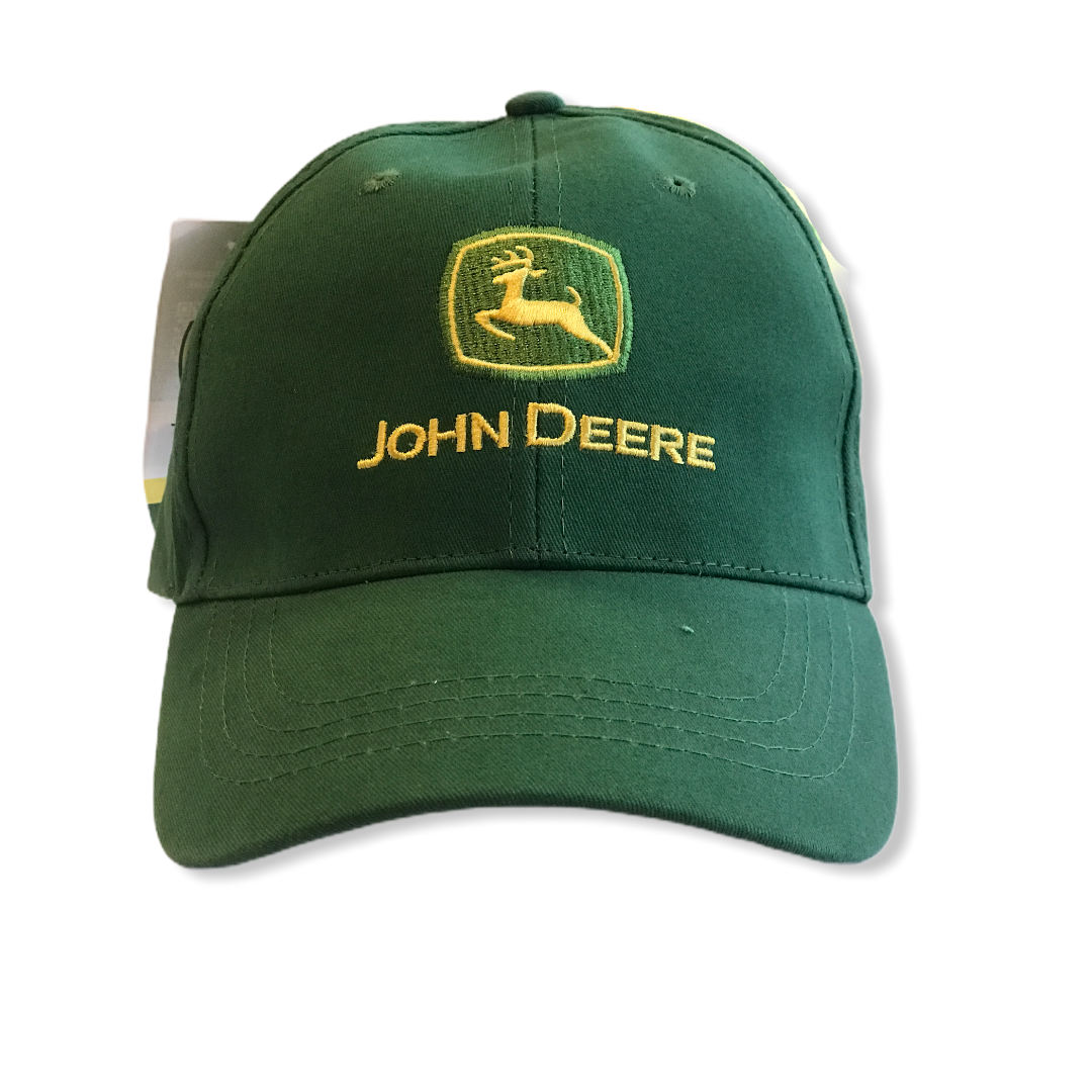Cappellino green John Deere