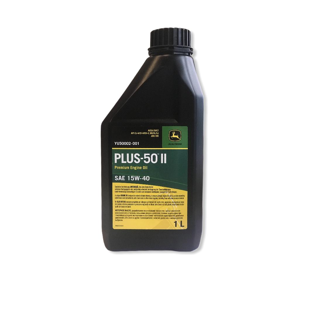 Olio motore PLUS-50II SAE 15W-40 John Deere 1Lt
