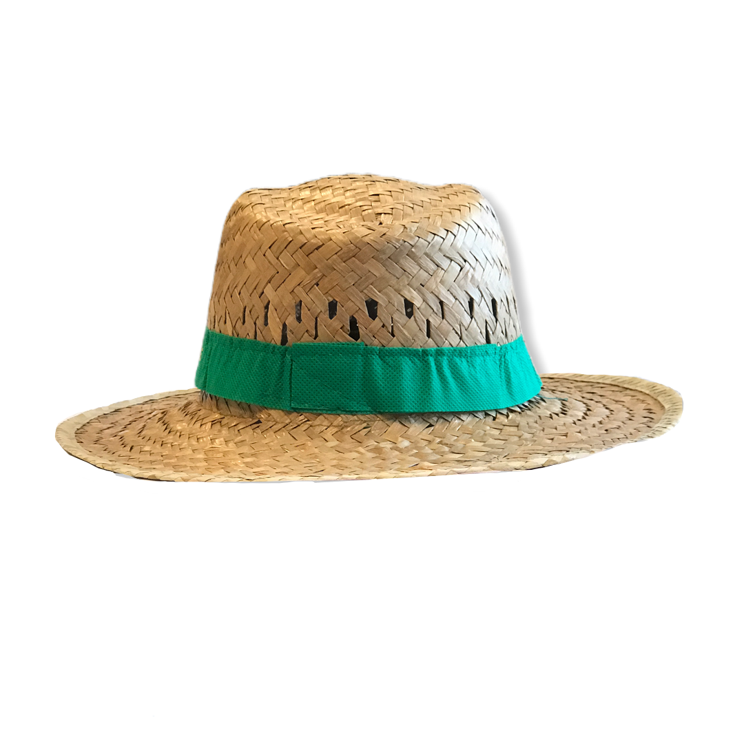 Cappellino in paglia John Deere