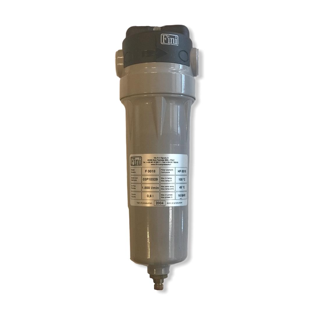 Filtro deoleatore compressori Fini