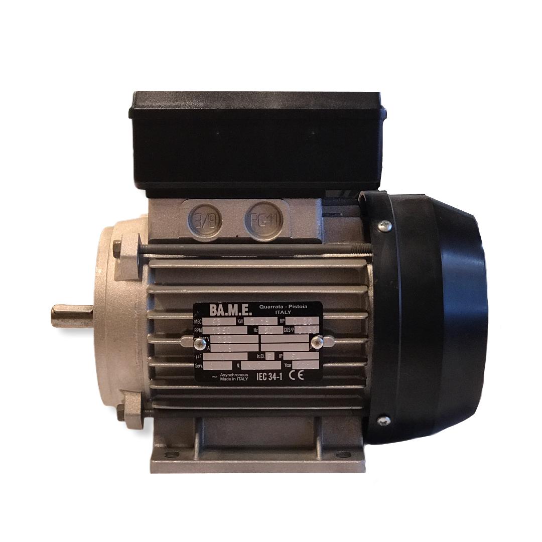 Motore elettrico 220V - 0.25Hp monofase BA.M.E