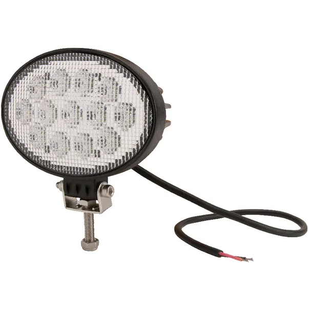 Faro da lavoro a LED ovale 3510lm 39W