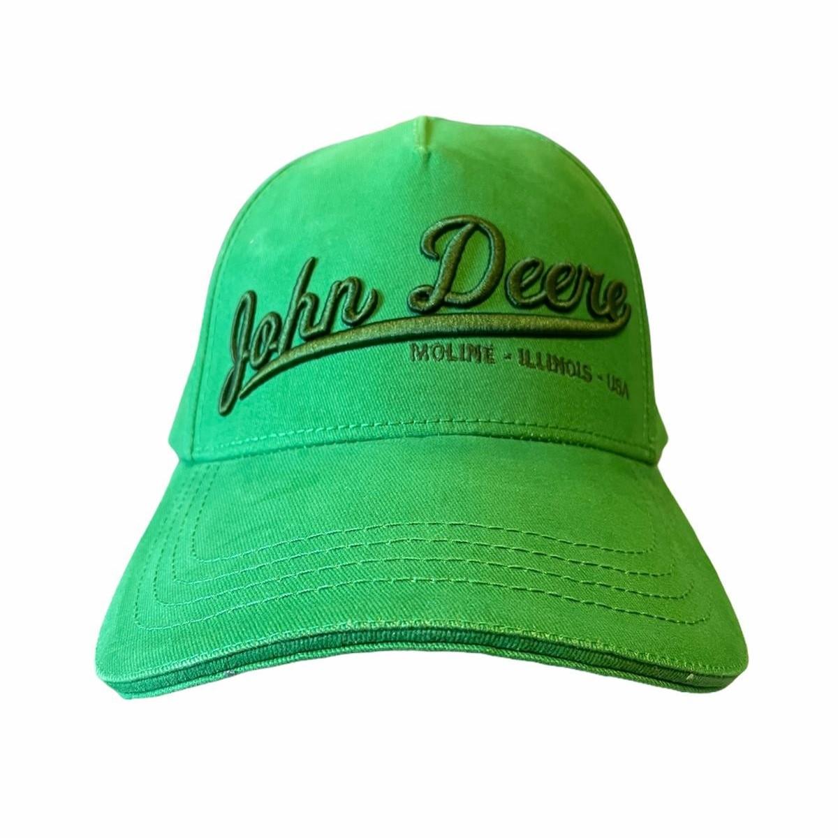 Cappellino John Deere verde 3D