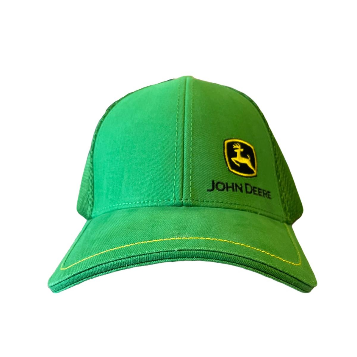 Cappellino John Deere verde Mesh con logo
