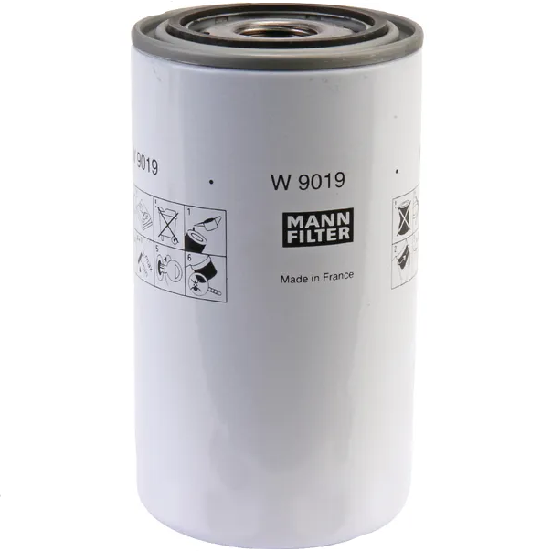 Filtro dell'olio MANN W9019 CASE/CLAAS/LANDINI/NEW HOLLAND
