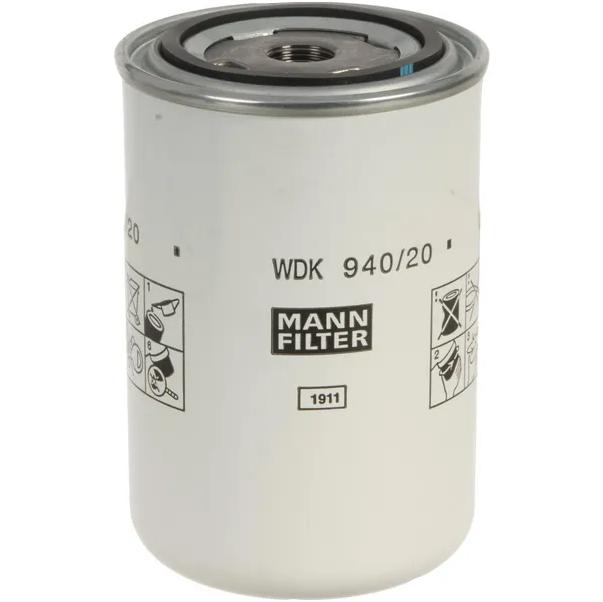 Filtro idraulico MANN WDK94020 DEUTZ ENGINES/DYNAPAC-WINGET