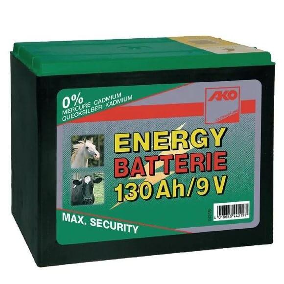 Batteria per recinti 9V 130Ah - AKO