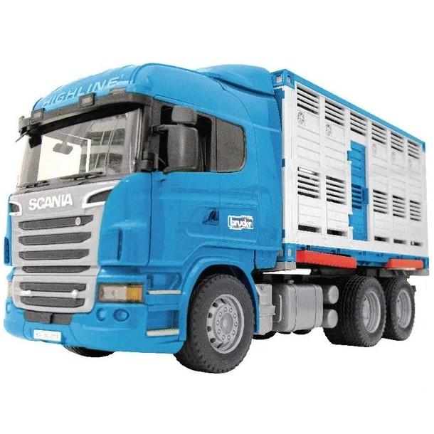 modellino Scania per trasporto animali