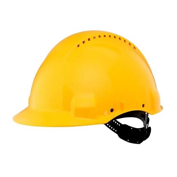 Casco di protezione pinlock G3000 giallo
