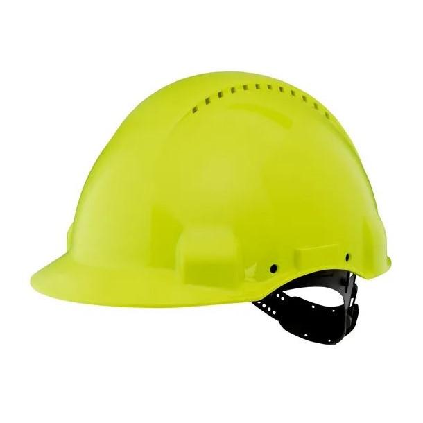 Casco di protezione pinlock G3000 verde fluo