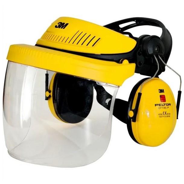 Casco di sicurezza completo G500 giallo