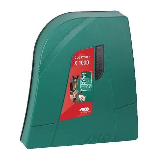 Elettrificatore per recinti Duo Power X1000 Combi – AKO