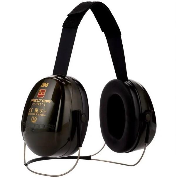 Cuffie di protezione acustica Optime II + fascia collo - Peltor