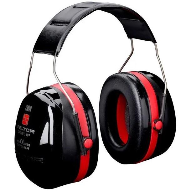 Cuffie di protezione acustica Optime III - Peltor