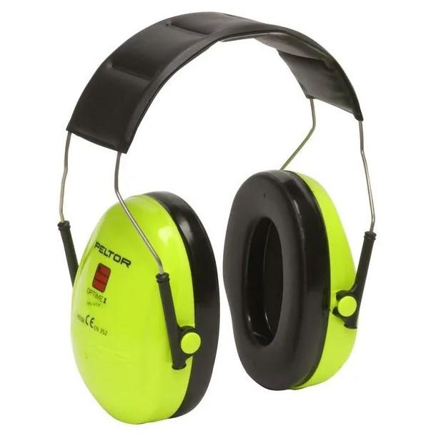 Cuffie di protezione acustica alta visibilità - Peltor I