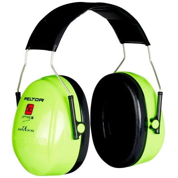 Cuffie di protezione acustica alta visibilità - Peltor II