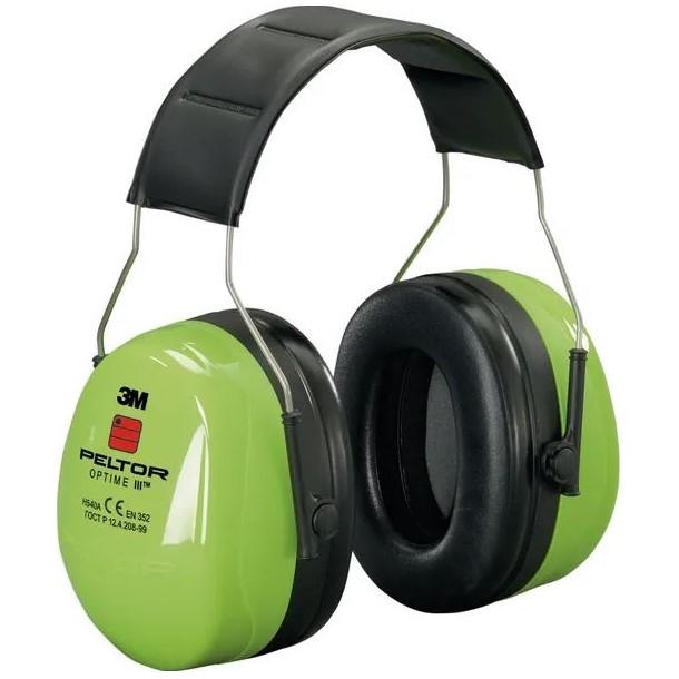 Cuffie di protezione acustica alta visibilità - Peltor III