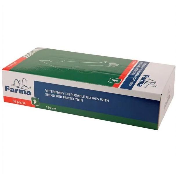 Guanto per veterinari 120 cm packaging