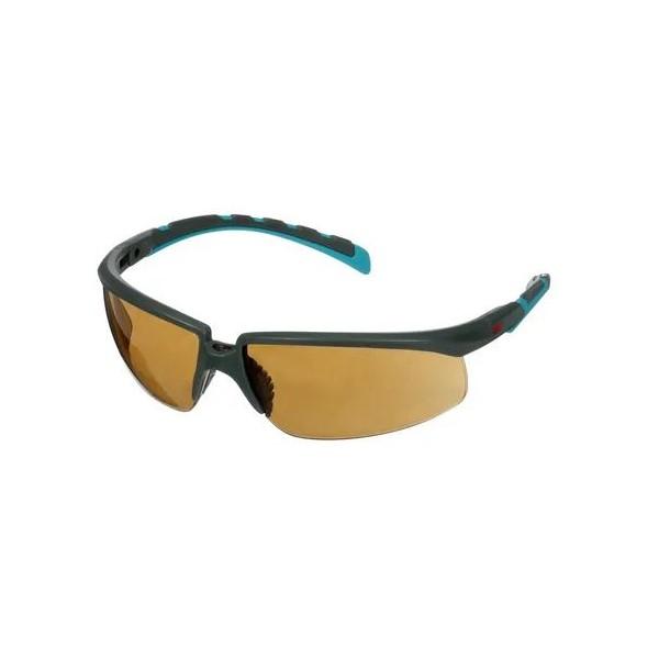 Occhiali protettivi lente marrone Solus - 3M