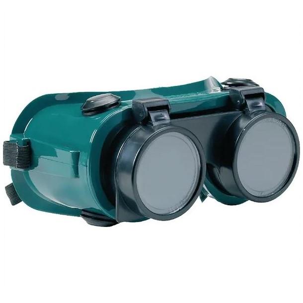 Occhiali protettivi per saldatura chiuso