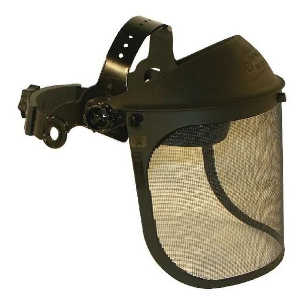 Protezione viso con visiera a rete Tecomec