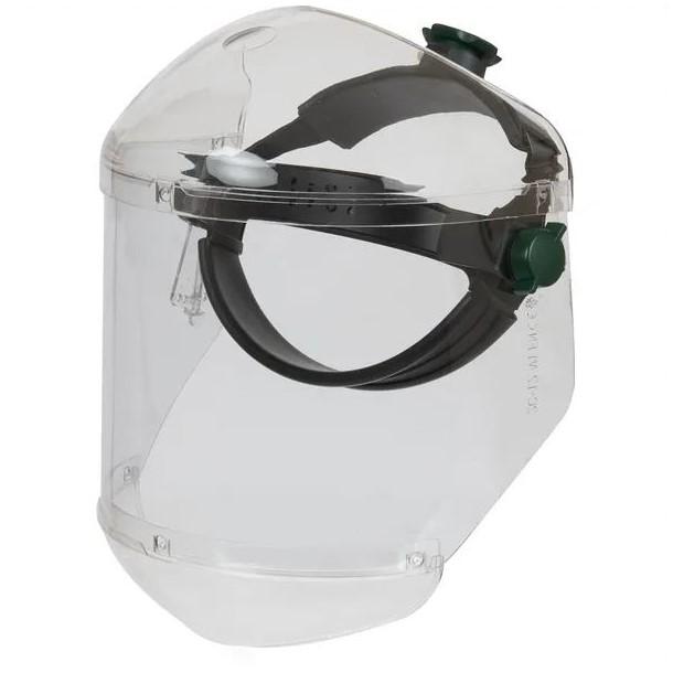 Protezione viso trasparente antigraffio
