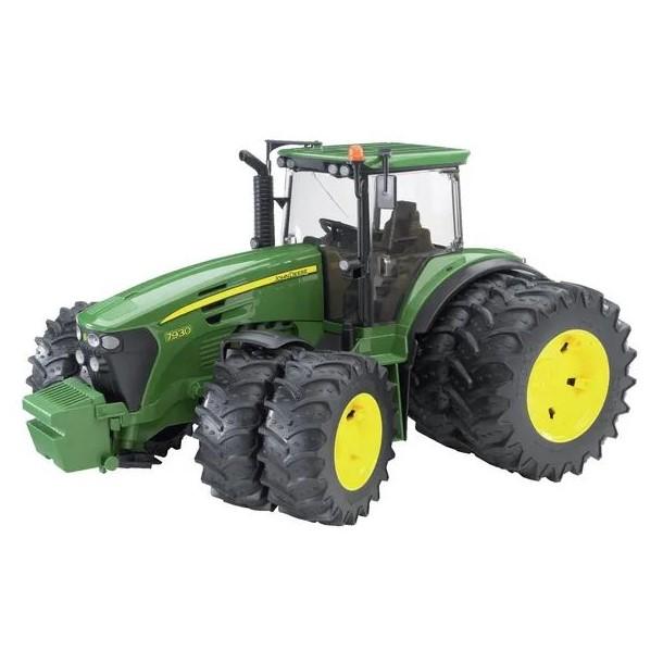 modellino trattore ruote gemellate