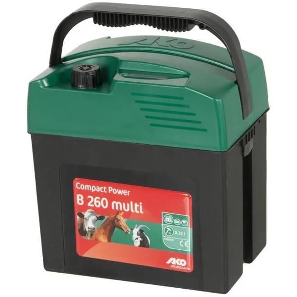 Elettrificatore per recinti Compact Power B260 – AKO