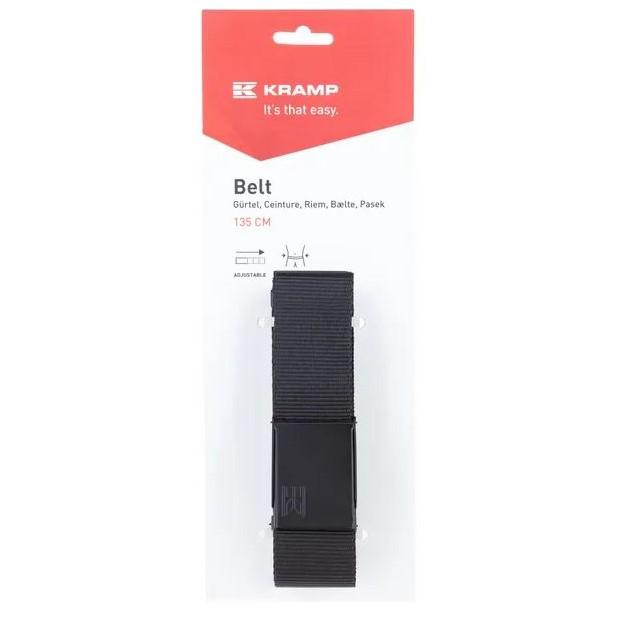 Cintura a nastro nera 135cm