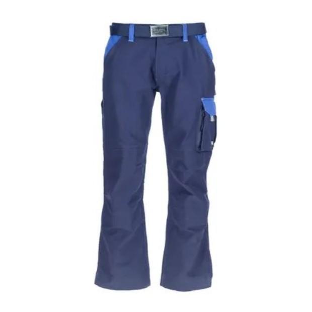Pantaloni da lavoro Blu scuro 100 cotone