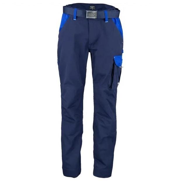 Pantaloni unisex da lavoro Blu navy Blu T C twill