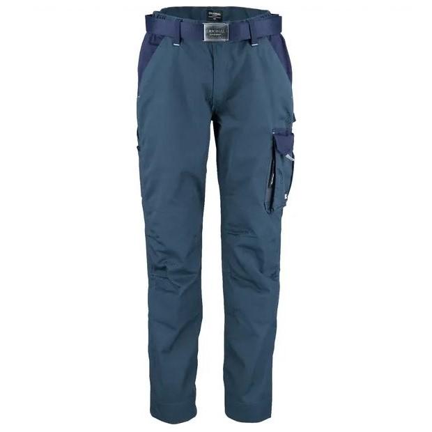 Pantaloni unisex da lavoro Verde Blu T C twill