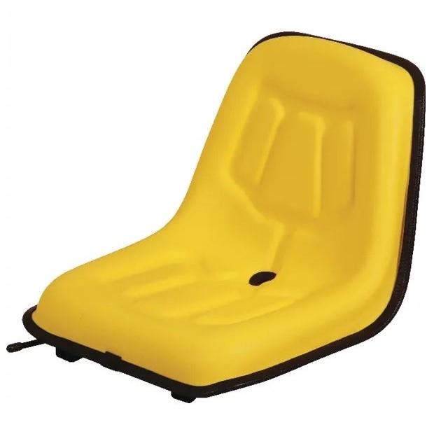 Sedile in PVC Giallo 363mm x 380mm
