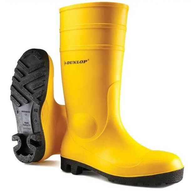 Stivali in gomma Dunlop Protomastor giallo