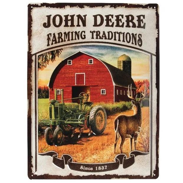 Targa John Deere Farming Tradition