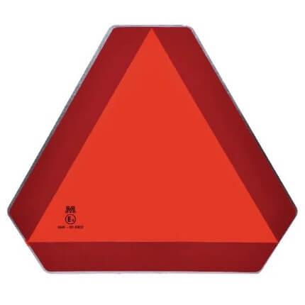 Pannello triangolare traffico lento ECE 69